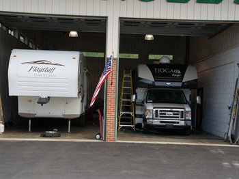 The Ability to work on Large or Small RVs